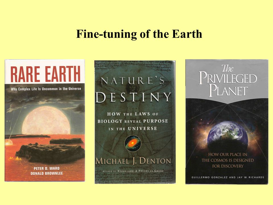 Fine-tuning of the Earth