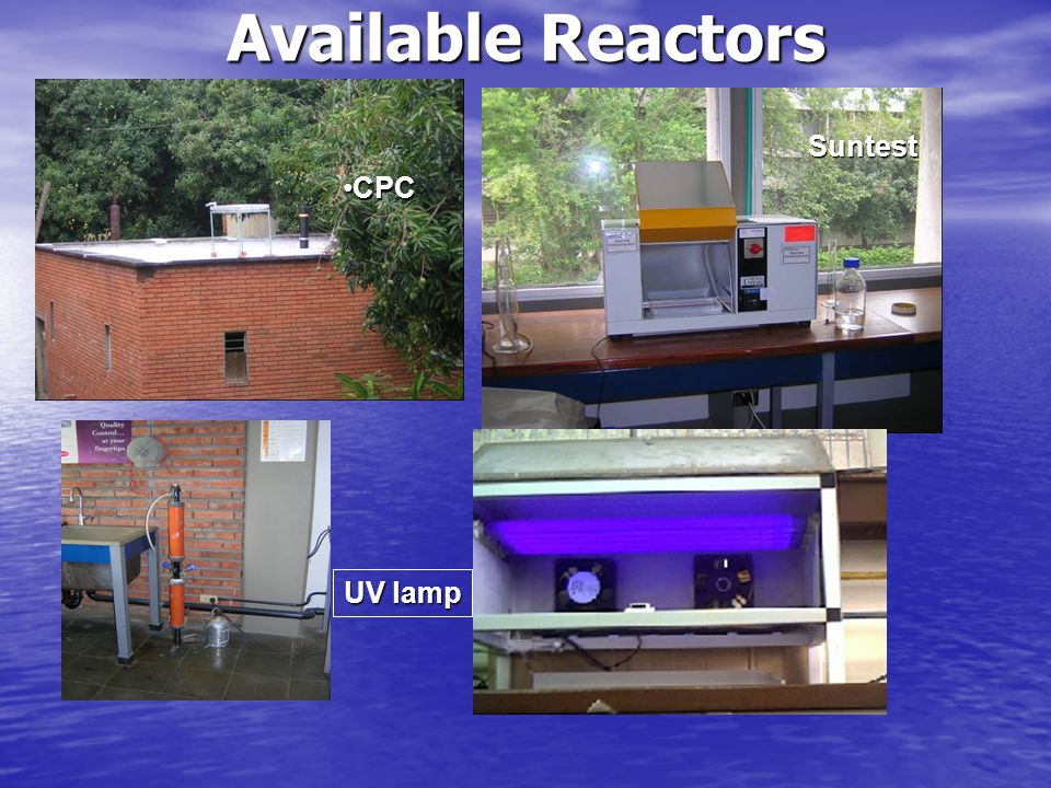 Suntest UV lamp CPCCPC Available Reactors