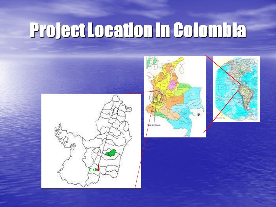 Cali Project Location in Colombia
