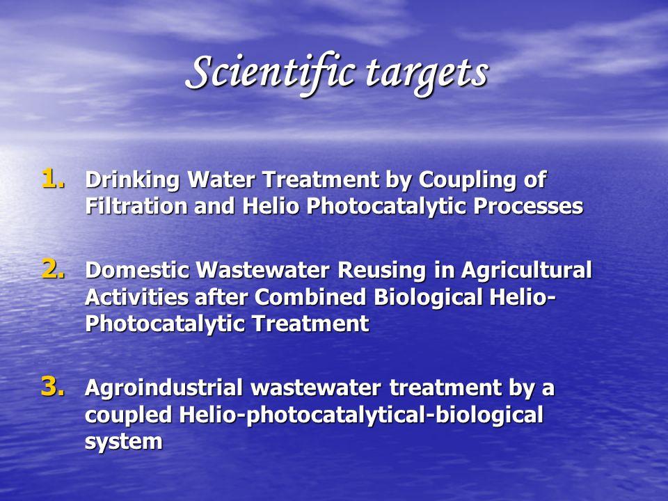Scientific targets 1.