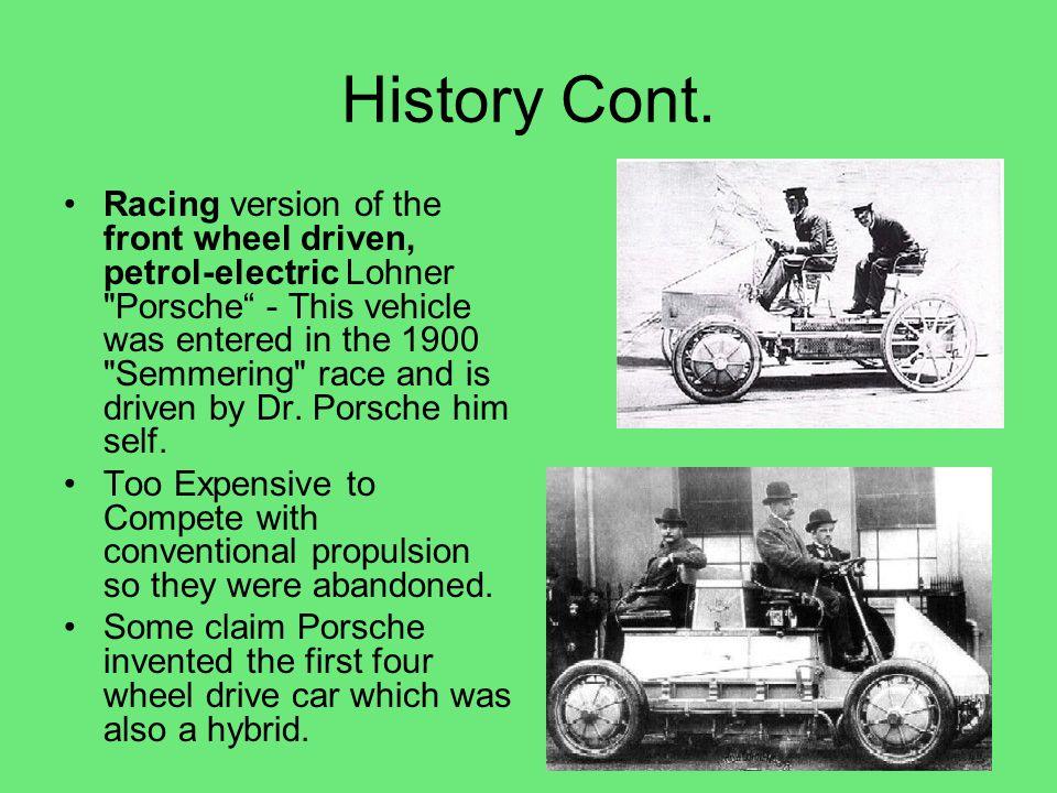 Smart Car Diesel Hybrid Cont.
