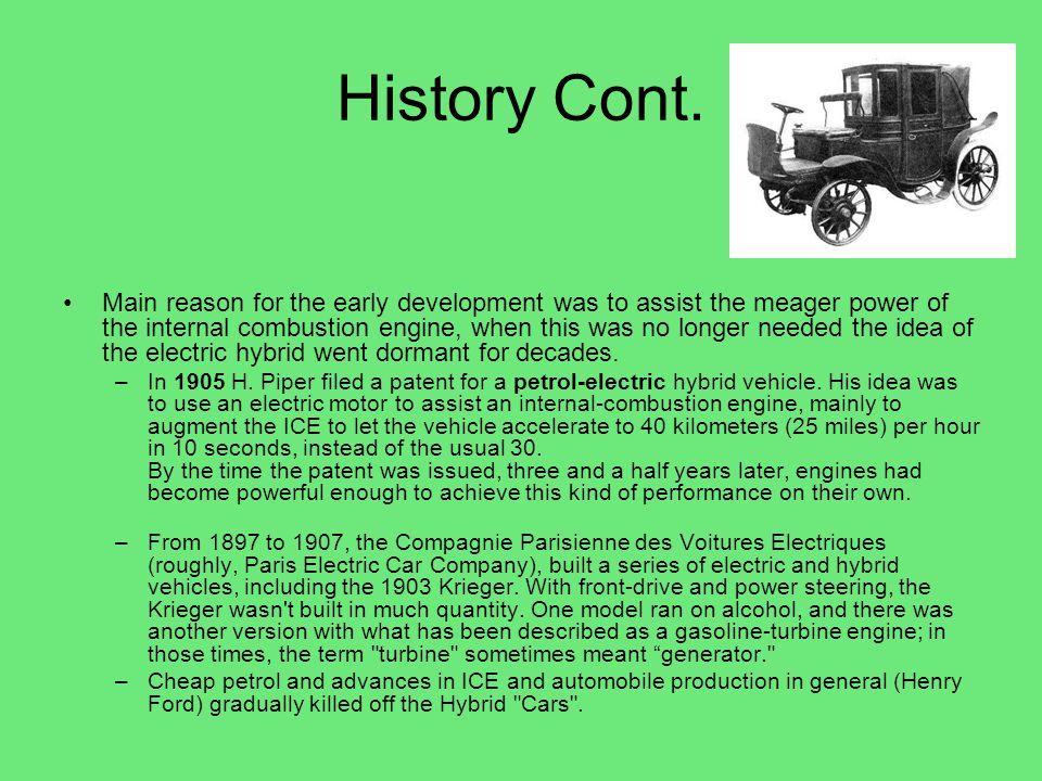 Diesel Over Gasoline Cont.