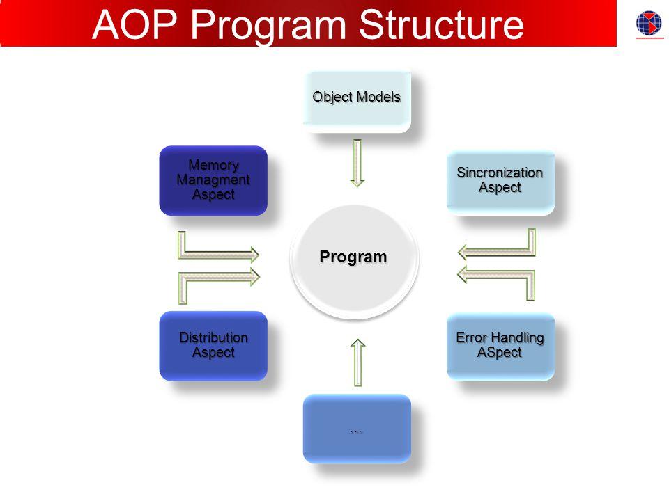 Program AOP Program Structure