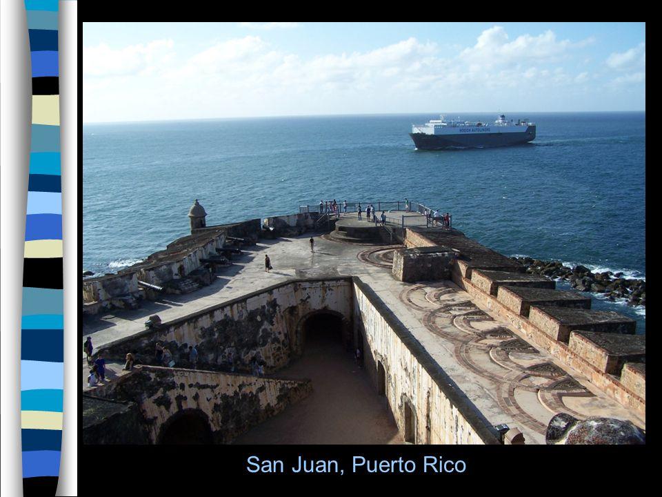 3 San Juan, Puerto Rico