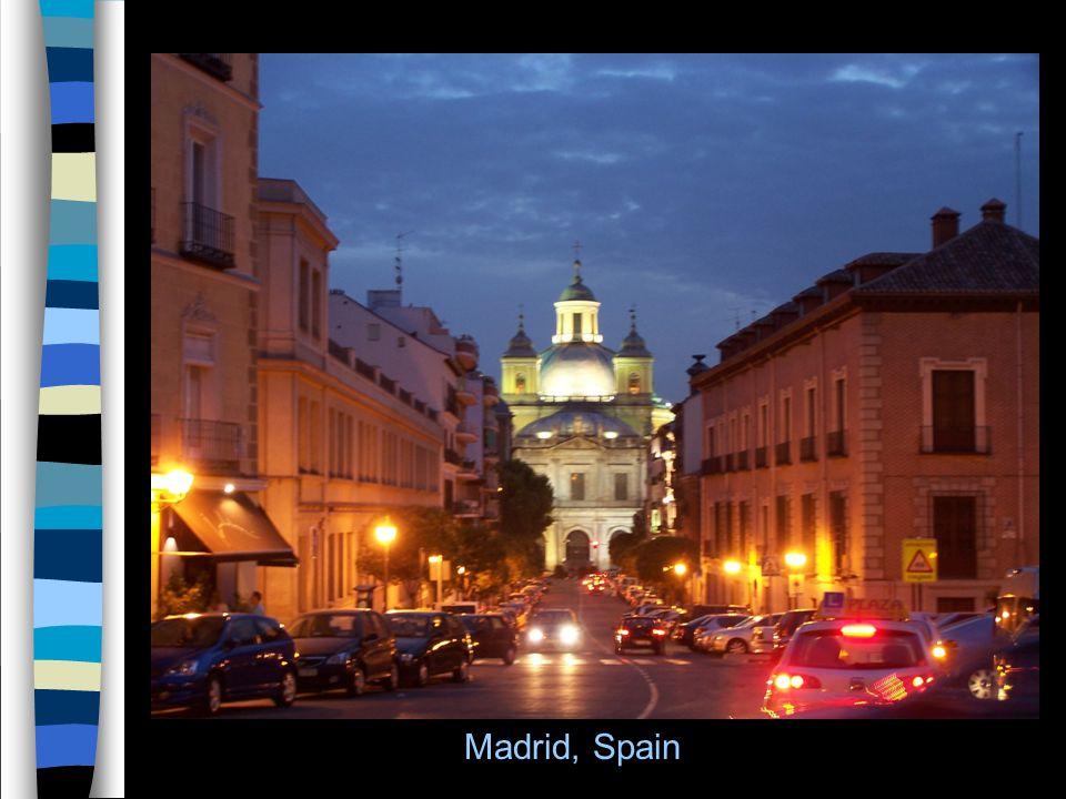 5 Madrid, Spain