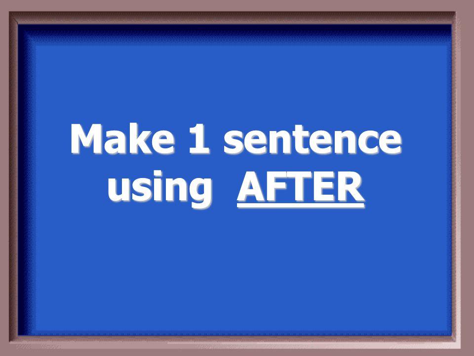 Make 1 sentence using PRIMERO Make 1 sentence using PRIMERO