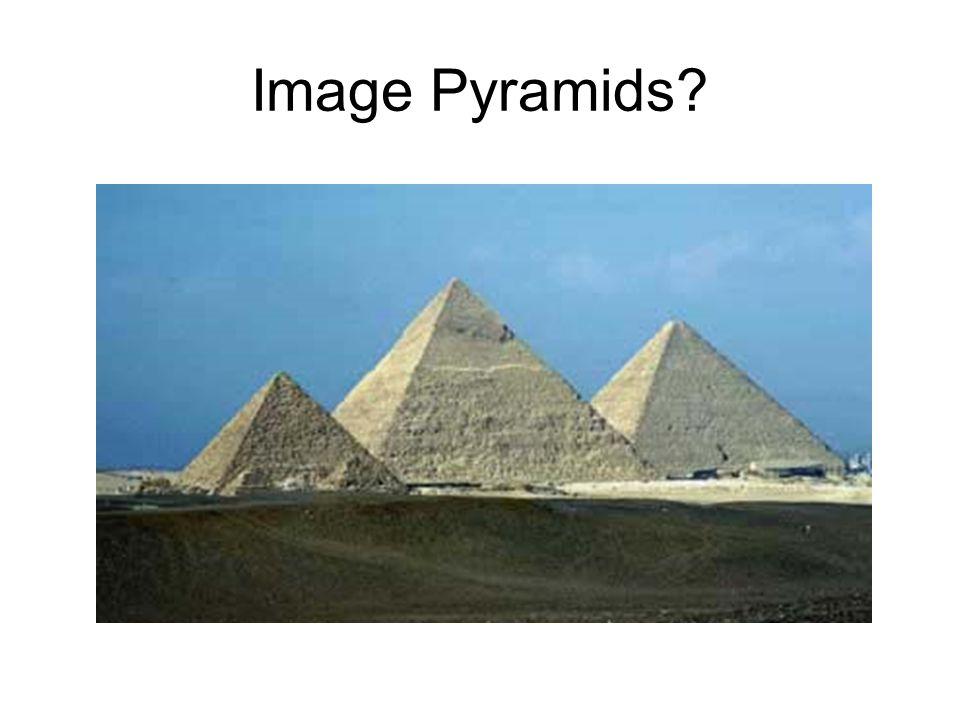 Image Pyramids?