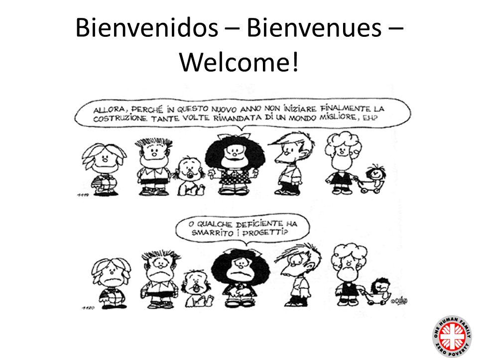 Bienvenidos – Bienvenues – Welcome!