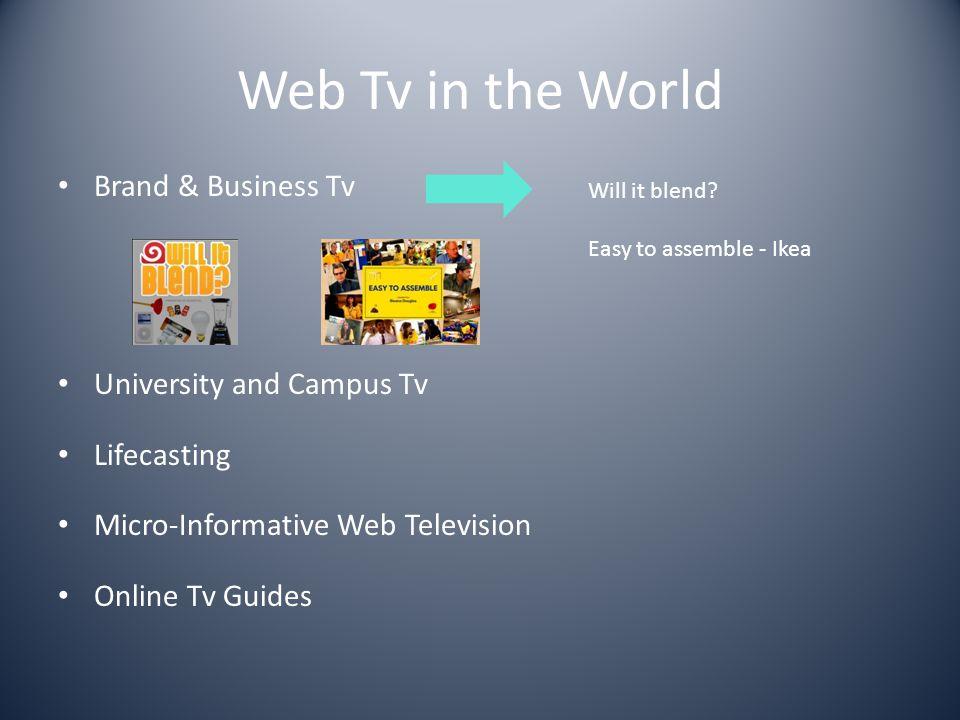 Web Tv made in Italy Micro Web Tv la moltitudine dei canali online nati da cittadini video maker per caso e per passione (G.Colletti)