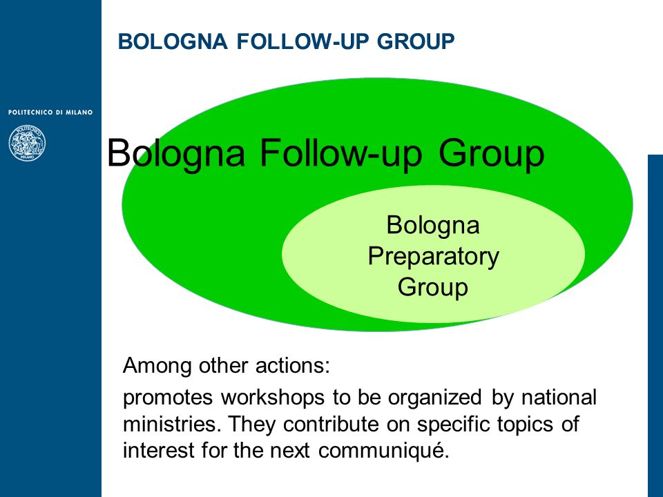 Among other actions: promotes workshops to be organized by national ministries.