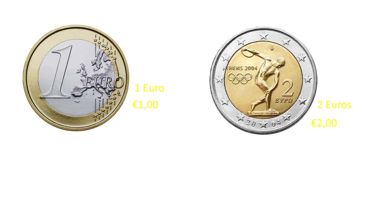 5 Euros €5,00€10,00 20 Euros 10 Euros €20,00