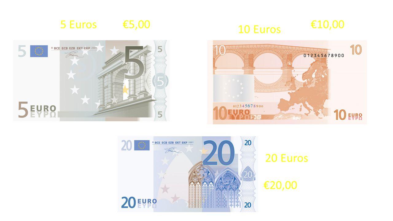 50 Euros €50,00 €100,00 100 Euros