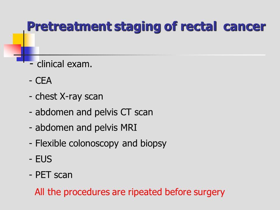 - clinical exam.