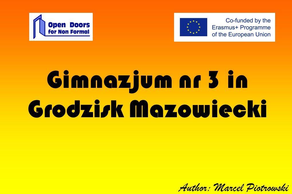 Gimnazjum nr 3 in Grodzisk Mazowiecki Author: Marcel Piotrowski