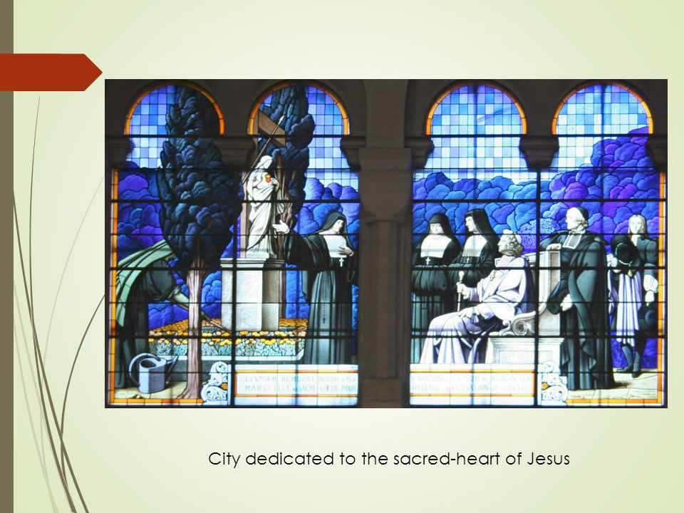 City dedicated to the sacred-heart of Jesus
