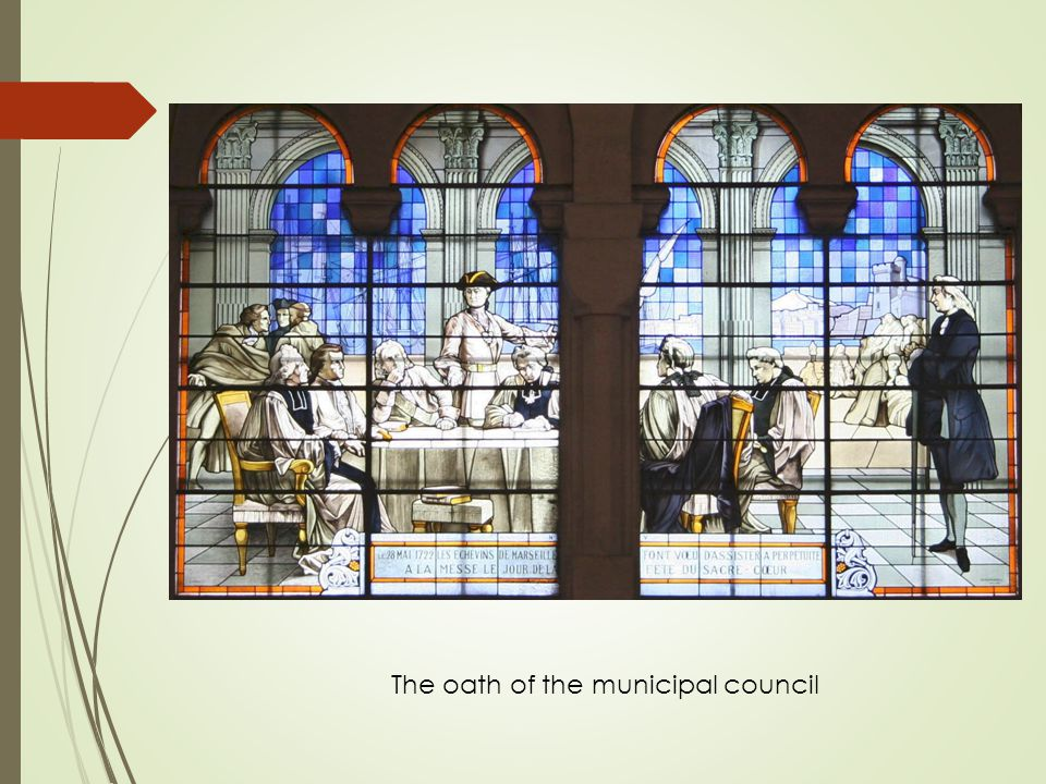 The oath of the municipal council