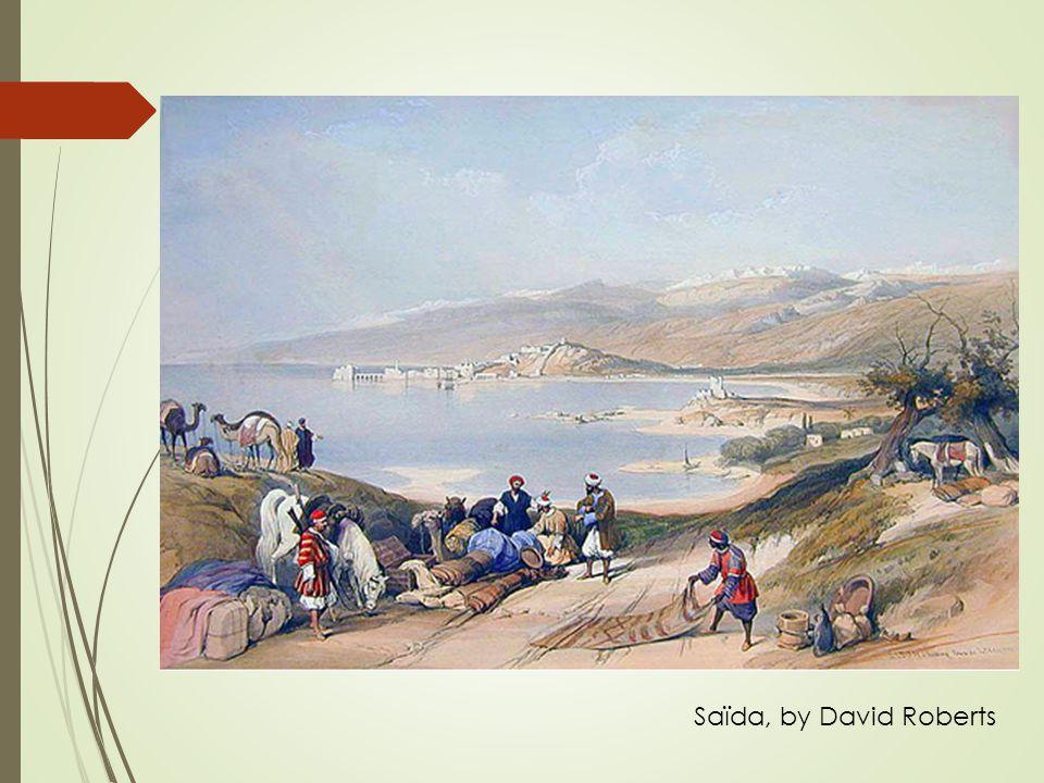 Saïda, by David Roberts
