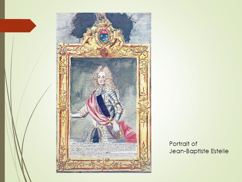 Portrait of Jean-Baptiste Estelle