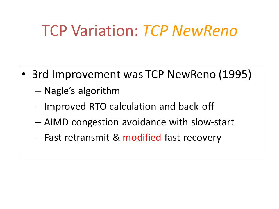 TCP Reno Trace (with two dropped segments)
