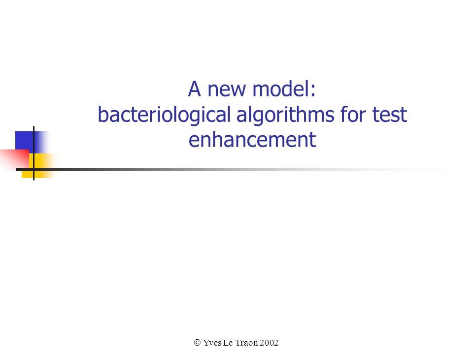  Yves Le Traon 2002 A new model: bacteriological algorithms for test enhancement