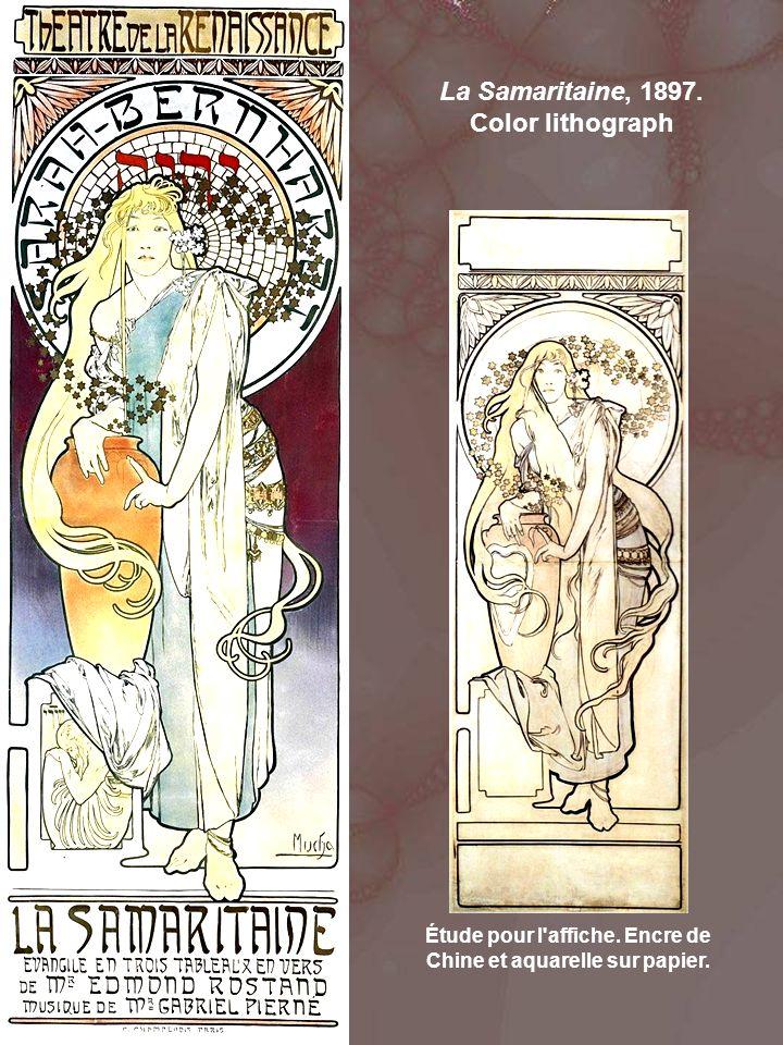 La Samaritaine, 1897. Color lithograph Étude pour l affiche.