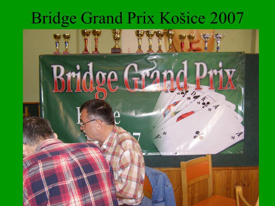 Bridge Grand Prix Košice 2007