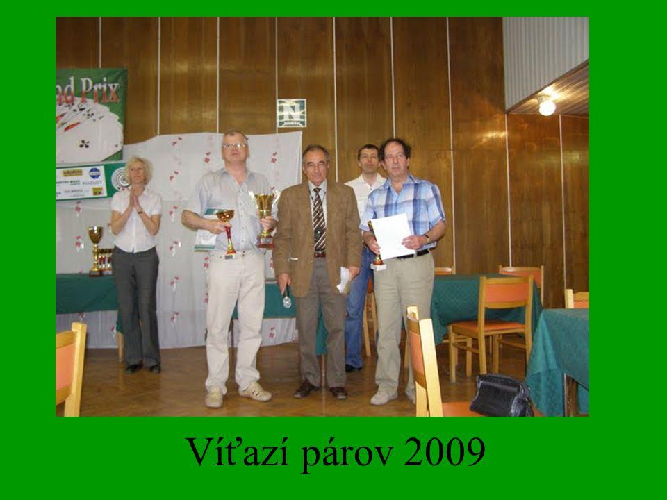 Víťazí párov 2009