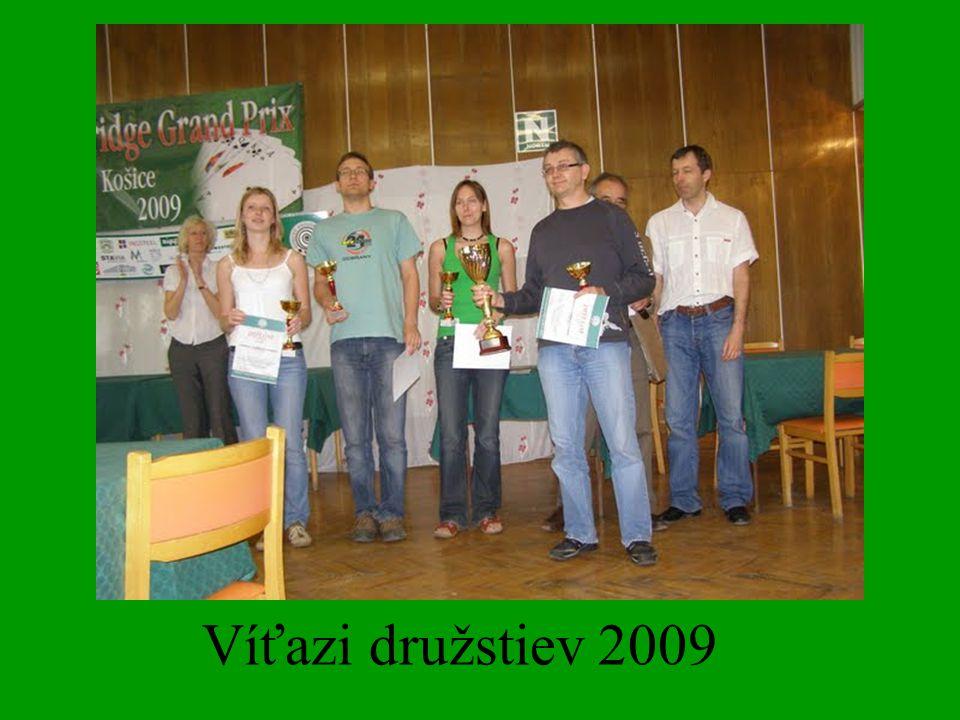 Víťazi družstiev 2009