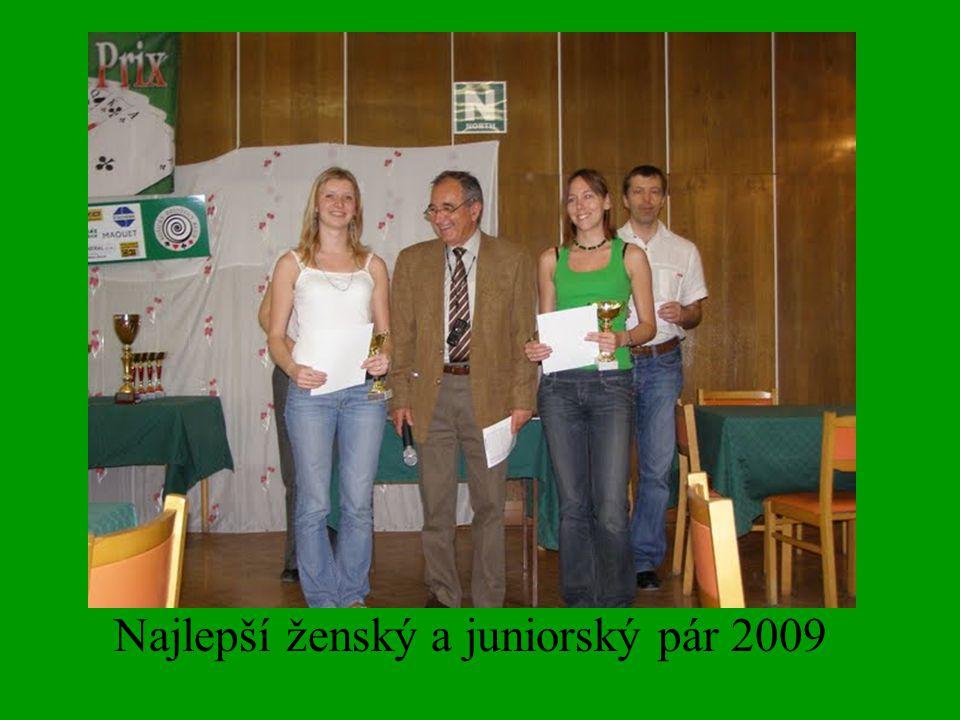 Najlepší ženský a juniorský pár 2009