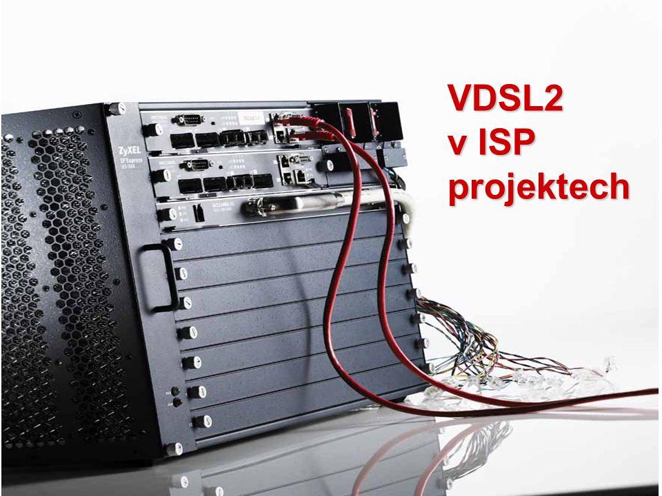 Copyright©2009 ZyXEL Communications Corporation. All rights reserved. VDSL2 v ISP projektech
