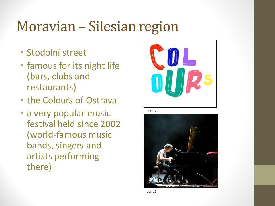 Moravian – Silesian region obr. 18 obr.