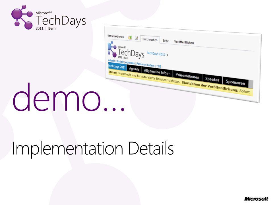 Implementation Details demo…