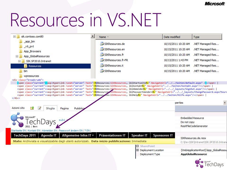 Resources in VS.NET