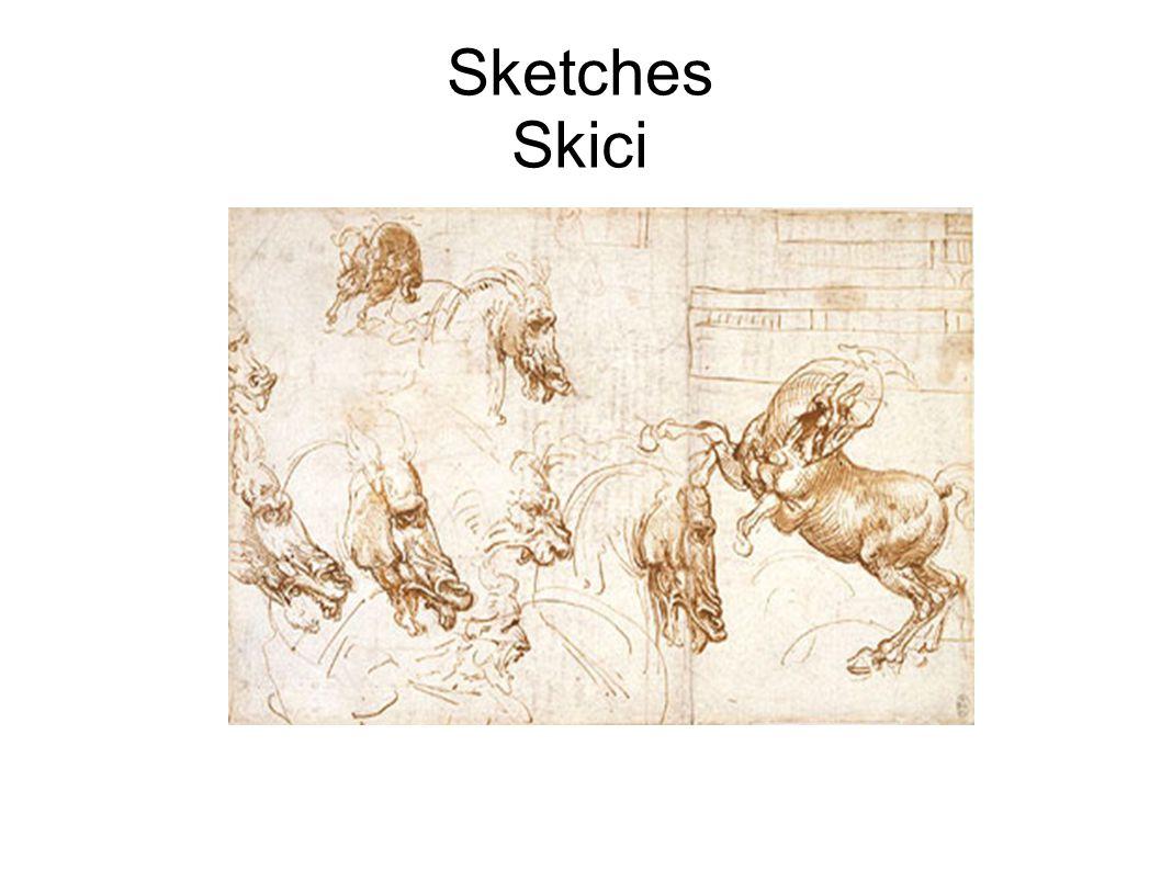 Sketches Skici