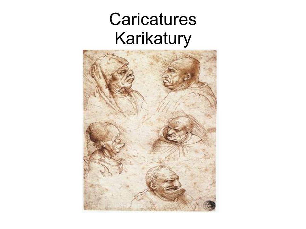 Caricatures Karikatury