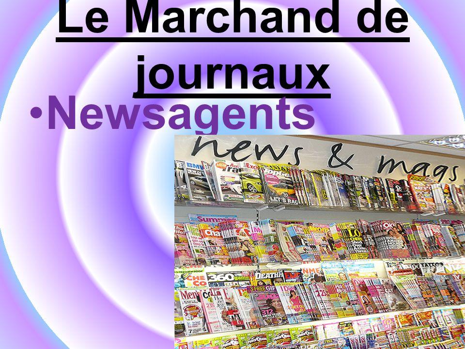 Le Marchand de journaux Newsagents