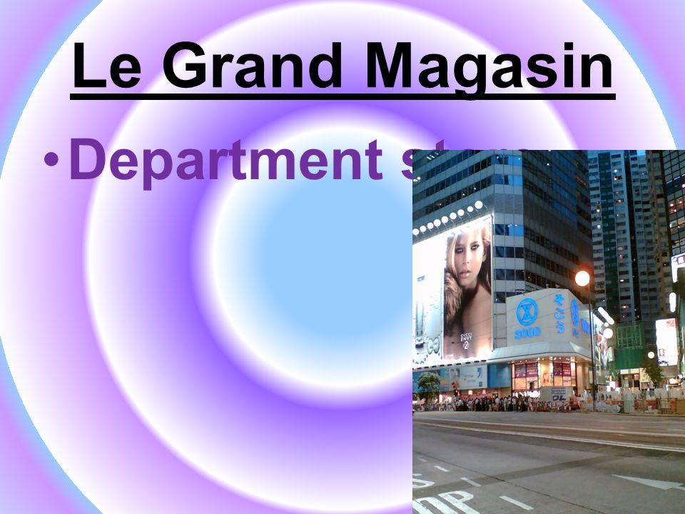 Le Grand Magasin Pharmacy/chemist