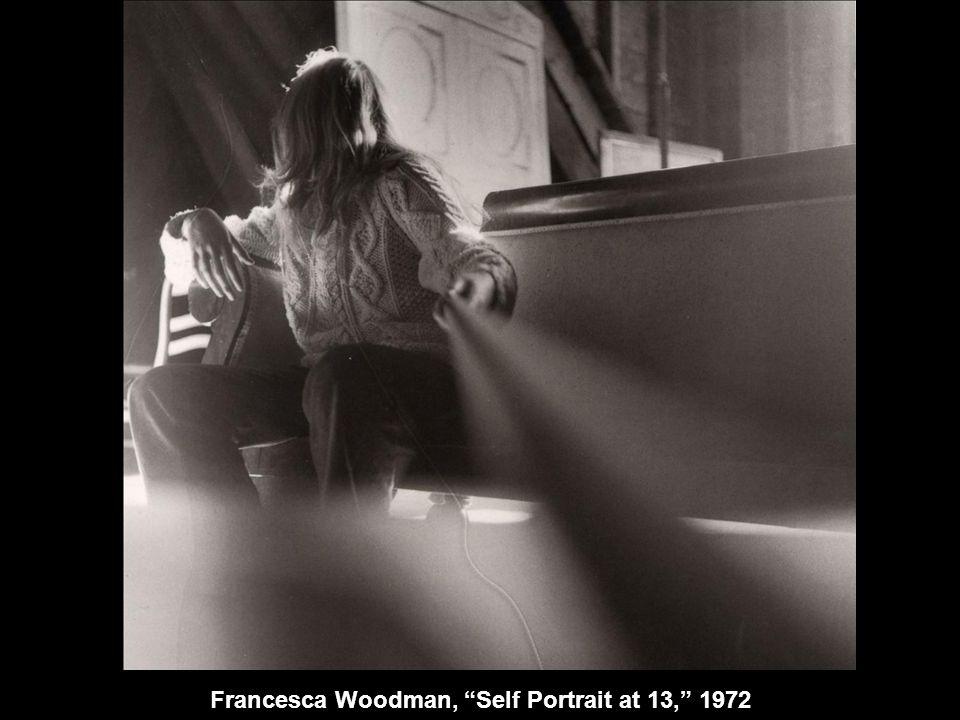 Francesca Woodman, Self Portrait at 13, 1972