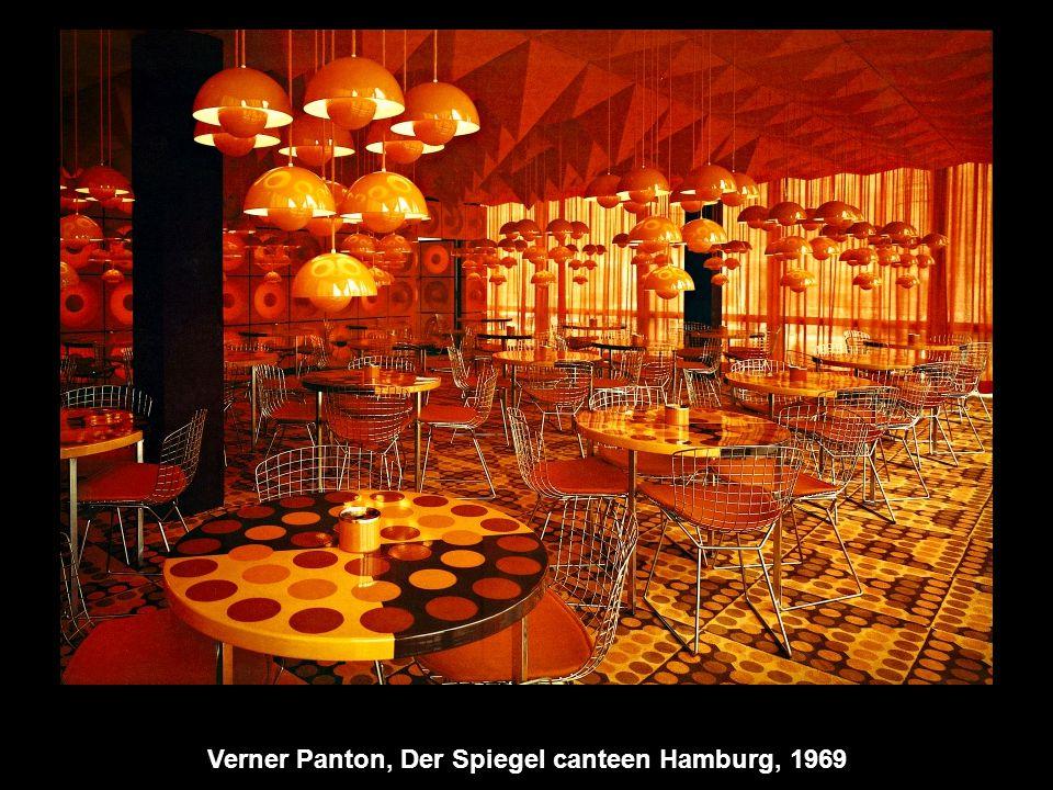 Verner Panton, Der Spiegel canteen Hamburg, 1969