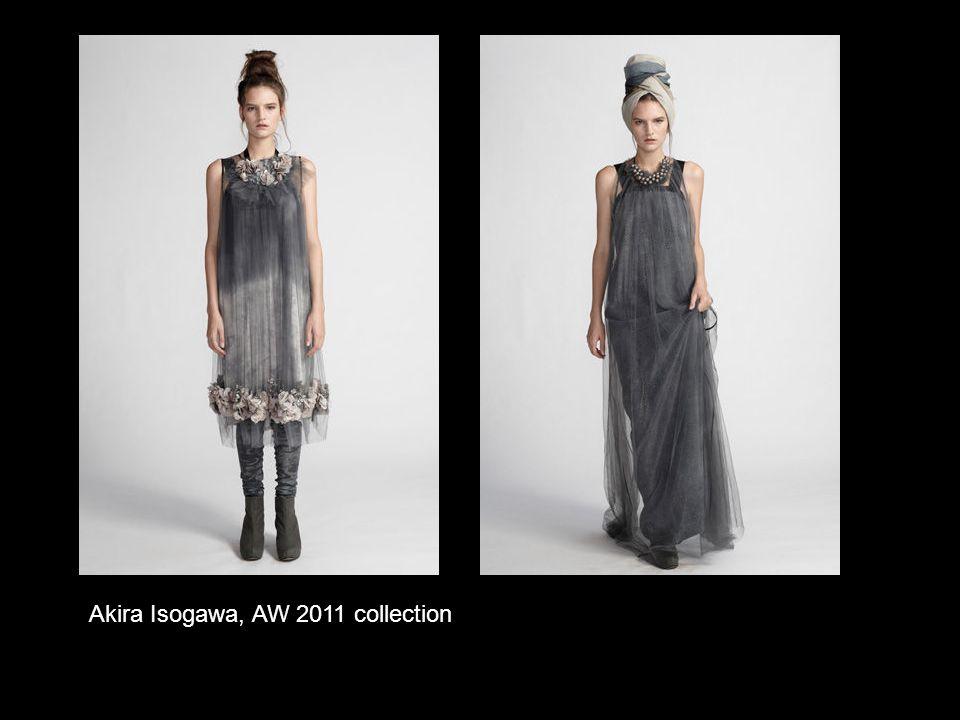 Akira Isogawa, AW 2011 collection