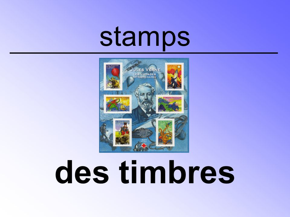 stamps des timbres