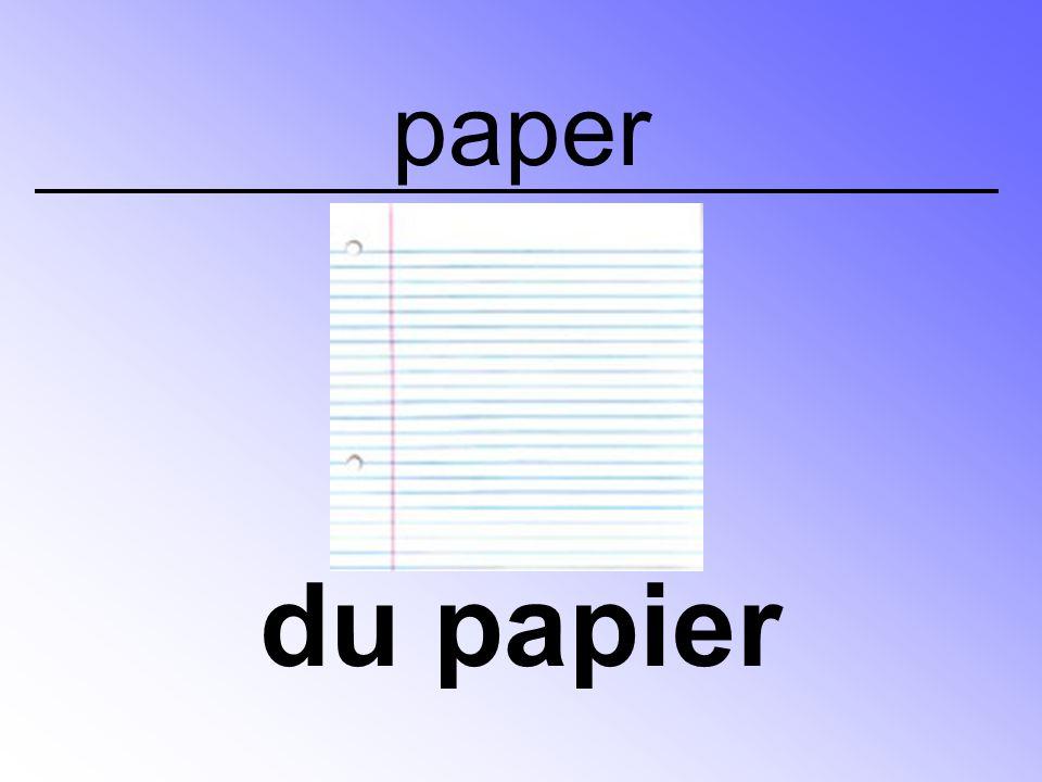 paper du papier