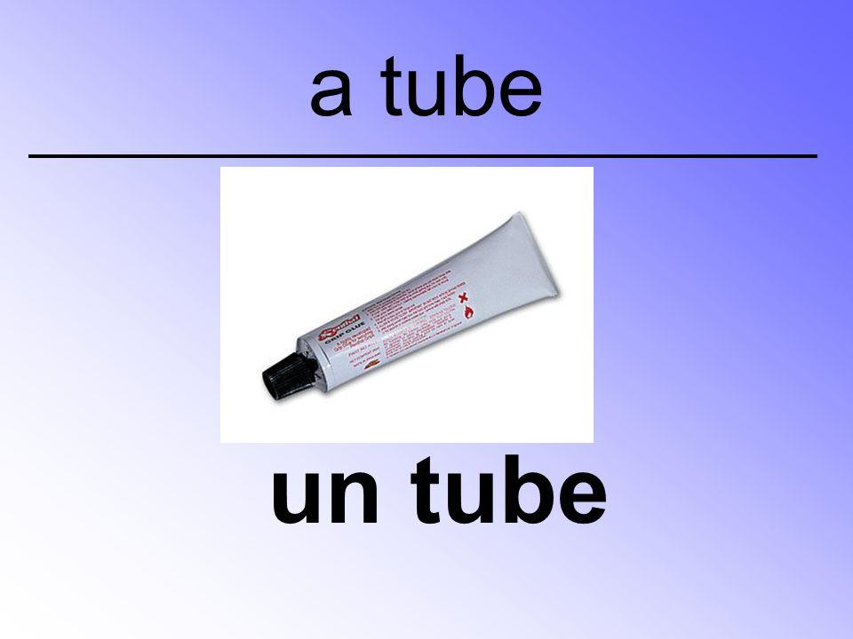 un tube a tube