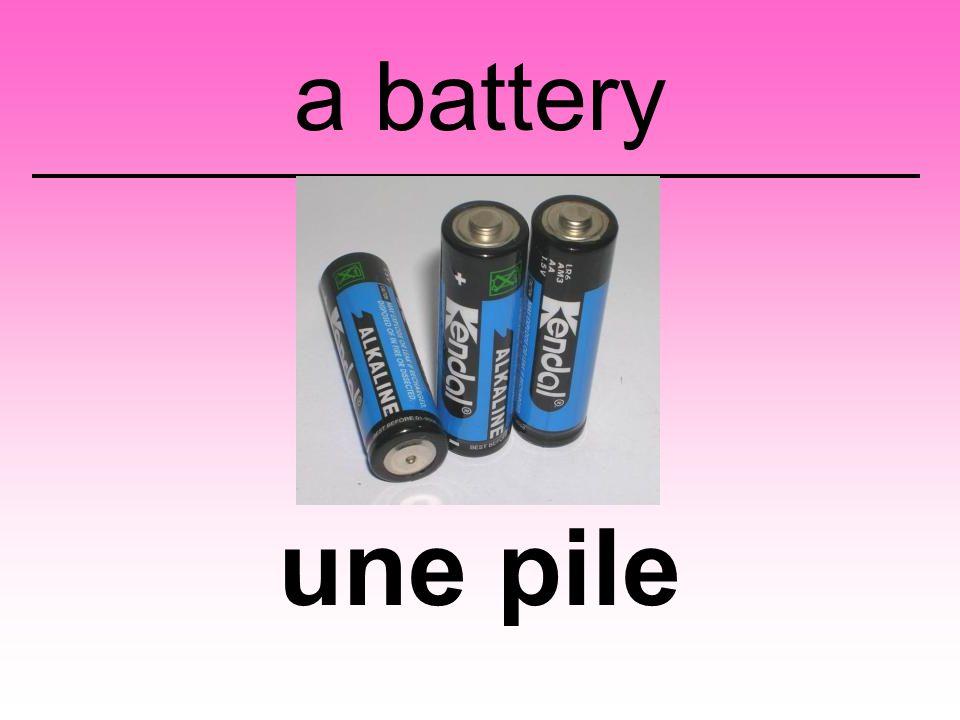 une pile a battery