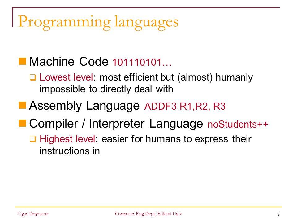 6 Object-oriented (OO) prog.