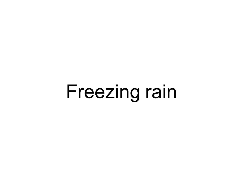 Freezing rain
