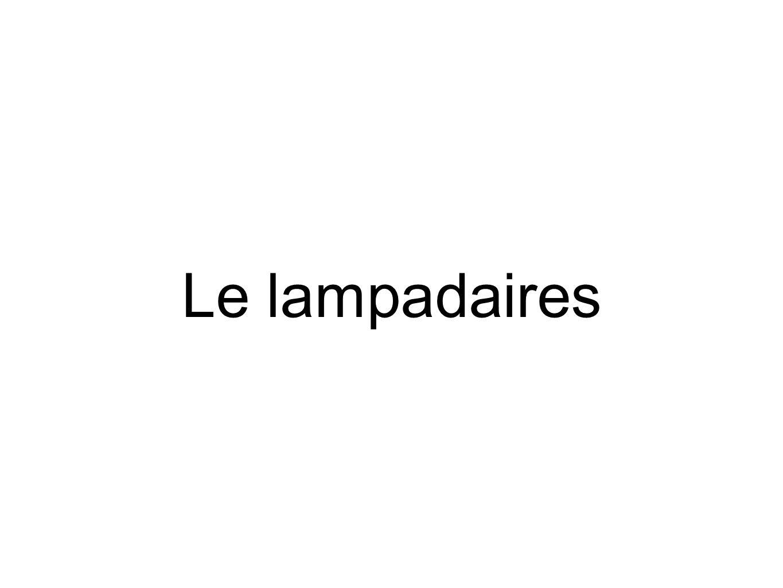 Le lampadaires