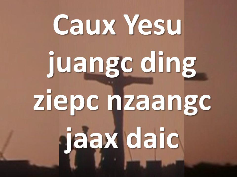 Caux Yesu juangc ding ziepc nzaangc jaax daic