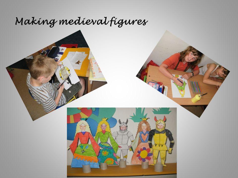 Making medieval figures