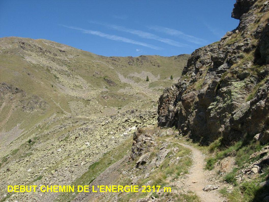CINQUIEME PARTIE DIRECTION LE REFUGE DE RABUONS 2555m